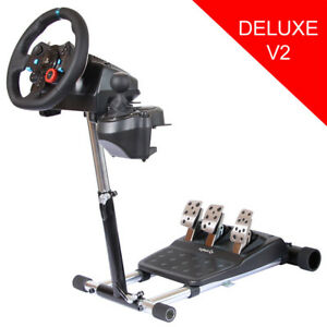 Logitech G25 + Wheel Stand Pro Deluxe V2 with shifter