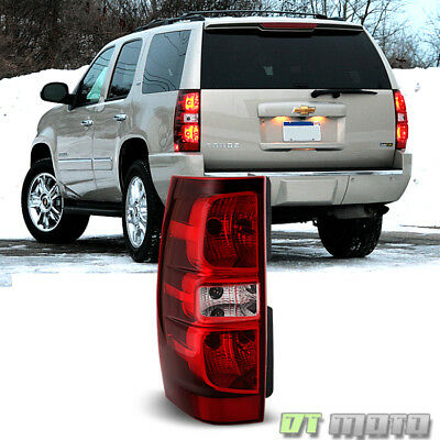 2007-2014 Chevy Suburban 1500 2500 Tahoe Tail Light Brake Lamp Driver Left Side