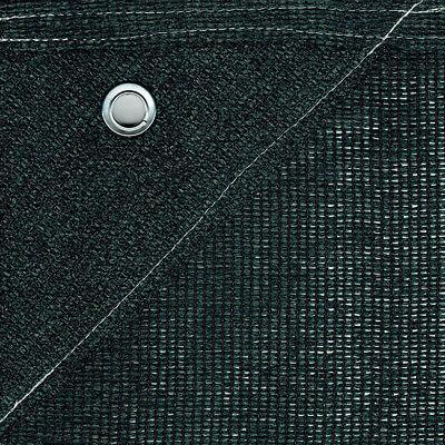 Bauzaunnetz 1,80m x 3,45m grün Sichtschutz Bauzaun Netz Blickdicht