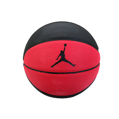 NIKE 2016 Jordan MINI Basketball Ball BB0487-600 Black / Red Size ...