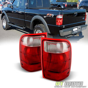 For 2001-2011 Ford Ranger Pickup Truck Tail Lights Brake Lamps Replacement 01-11
