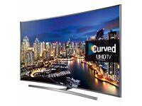 "Samsung UE48JU7500 48"" CURVED 3D UHD 4K HDR LED WIFI Quad Core Smart TV Freeview Freesat"
