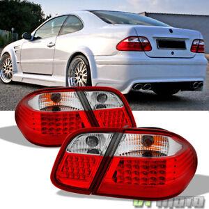 1998-2002 Mercedes Benz W208 CLK320 CLK430 CLK55 AMG LED Tail Lights Brake Lamps