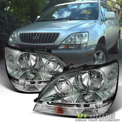 For 1999-2003 Lexus RX300 Headlights Headlamps Replacement 99-03 Left+Right - 00 Lexus Rx300 Headlight
