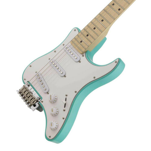 Traveler Travelcaster Deluxe In Surf Green The Ultimate Lightweight Companion!