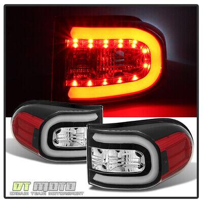 For Black 2007-2014 Toyota Fj Cruiser LED Bar Tail Lights Lamps 07-14 Left+Right