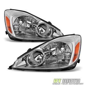 For 2004-2005 Toyota Sienna Headlights Headlamps Left+Right 04-05 Halogen Lights