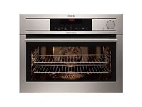 Aeg compact steam oven new