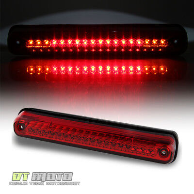 1994-1999 GMC Sierra Chevy Silverado Pickup Red LED 3rd Brake Light Cargo Lamp