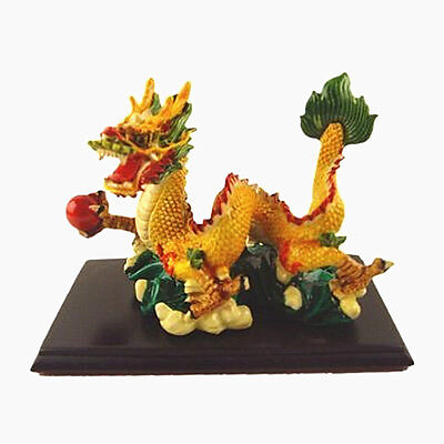 Feng Shui  Chinese Dragon With Pearl for Prosperity and Wealth Luck