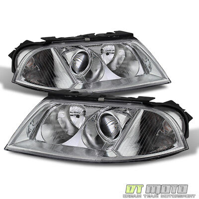 - 2001-2005 VW Passat Replacement Projector Headlights Headlamps Pair Left+Right