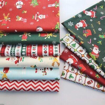 100% Cotton Christmas Fabric Snowman Tree Printed Material Kids Costume Toys DIY - Christmas Tree Costume Diy