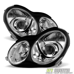 [Factory Style] 2001-2007 Mercedes Benz W203 C230 C240 C320 Projector Headlights