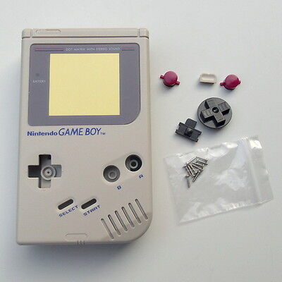 OEM Gray New Full Housing Shell for Nintendo For Gameboy Classic DMG-01