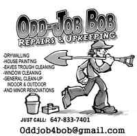 Odd Job bob repairs and upkeeping