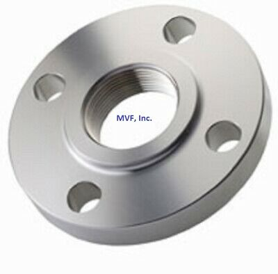 1 150 Raised Face Threaded Npt Flange 304 Stainless Steel Ansi S506110304