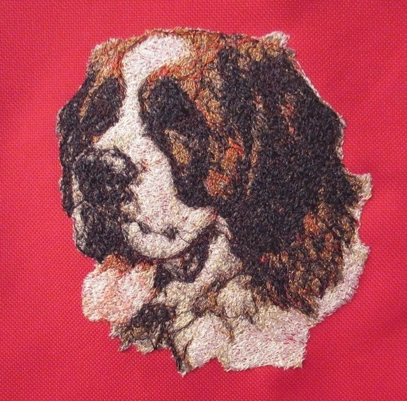 Embroidered Fleece Jacket - Saint Bernard AED14570 Sizes S - XXL