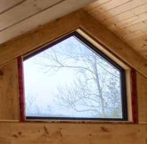 New Cathedral / Vaulted / Gable Window - Inline