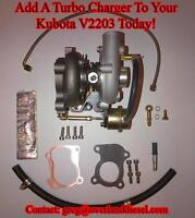 Kubota V2203 Turbo Kit