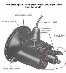 Wanted: 1948-1952 Ford F1 Pickup Open Drive Taishaft