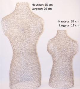 Mannequins en fils d'aluminium - vendus séparément (valeur +130$