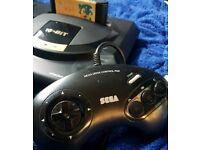 Sega Mega Drive Complete With Sonic