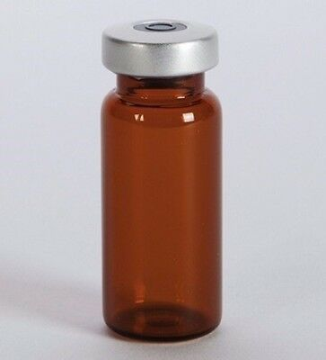 10ml Sterile Amber Serum Vial 10 Pack