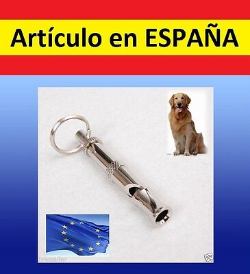 Silvato ultrasonico perros ADIESTRAMIENTO caza antiladridos mascota ultrasonidos
