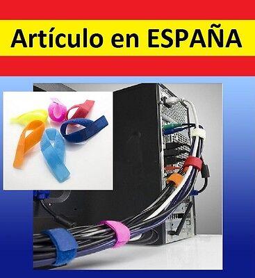 5x VELCRO Organizador cables informatica electronica junta sujeta informatica