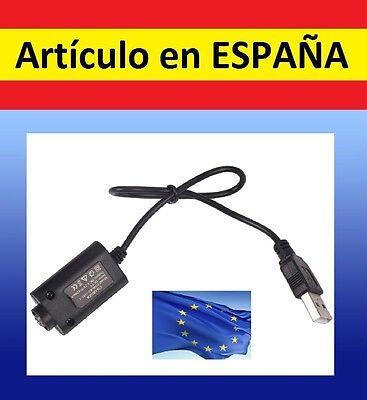 CARGADOR por USB bateria CIGARRO ELECTRONICO Vaporizador electrico cigarrillo EC