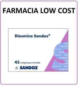 Diosmina 45 cpr sandoz x gambe pesanti e stanche deficit - Ortopedia low cost ...