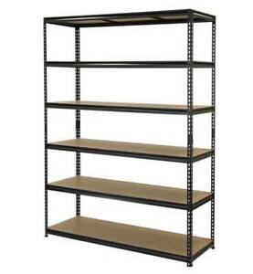 Pinnacle 2090x1500x540mm 6 Tier Adjustable Shelving - Used but AS NEW