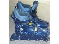 Roller blades/In line skates UK size 9. Eur 43