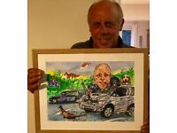 XMAS/SPECIAL OCCASION - GIFT CARICATURES created by Sean Savage - Caricaturist