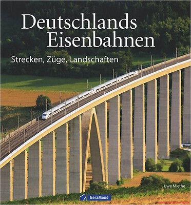 Fachbuch Deutschlands Eisenbahnen, Loks Wagen Strecken Landschaften, NEU