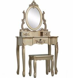 Dressing table&stool