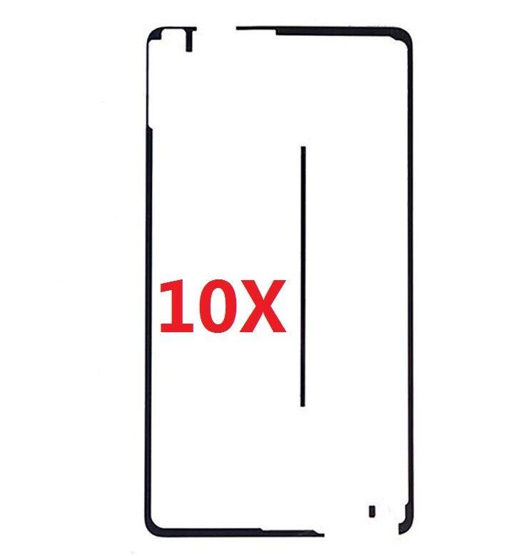 10X Touch Screen 3M Pre Cut Adhesive Tape Sticker Glue Black