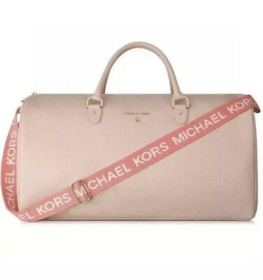 NEW Michael Kors Glam on the Go Weekender Large Travel Duffle Tote Bag Large Glam Bow
