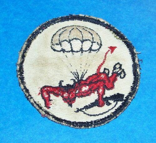 ORIGINAL GREENBACK WW2 508th PIR PARACHUTE INFANTRY REGIMENT PATCH (GLOWS)