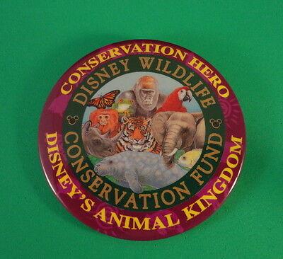 Disney Wildlife Conservation Fund - Conservation HERO - Pin-On Button