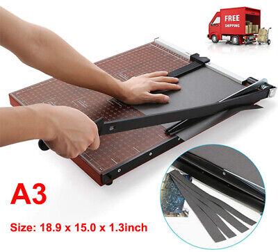Paper Trimmer A3 Guillotine Cutter 18 Cut Length Heavy Duty Craft Machine
