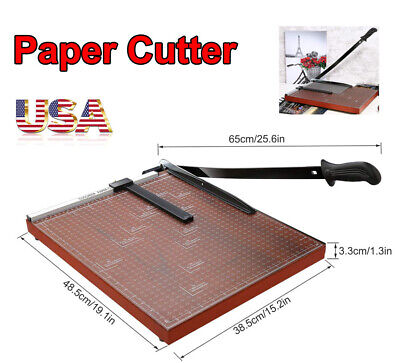 Paper Trimmer A3 Guillotine Paper Cutter Blade Gridded Photo Craft Machine