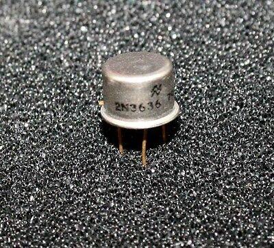 National 2n3636 Rf Transistor - Lot Of 3 2n3636