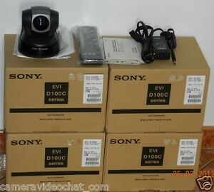 Sony EVI D100 PAL NEW video conference camera videochat Pan Tilt Zoom Webcam D31