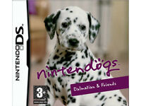 NINTENDOGS DS GAME - perfect condition (pre-owend) family fun kids and adults.