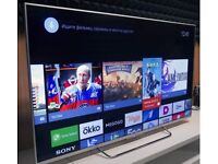 """Sony 55"""" 4K Android 3D TV with 4K X-Reality PRO, TRILUMINOS Display"""