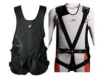 Sailing Trapeze Harness - Magic Marine Smart Harness - Black