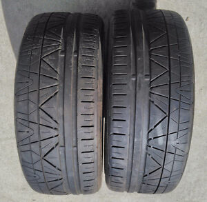 2 used Nitto INVO tires (255/40 ZR18 92W)