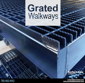 Grated Walkways | Surface Flow Control
