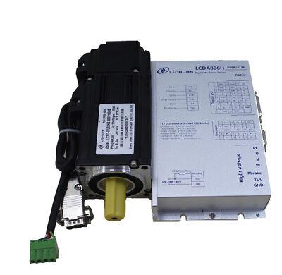 200w 36v 0.637n.m Torque Dc Servo Motor Servo Driver With 3 Meter Cable Kits